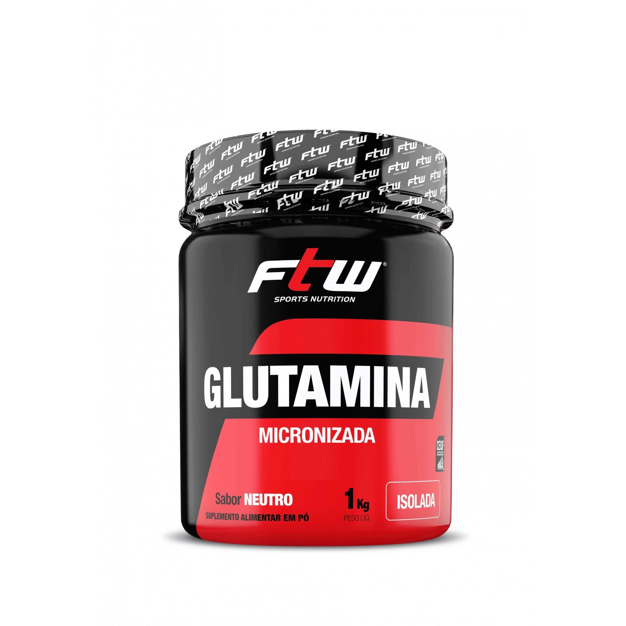 Glutamina Micronizada FTW 1Kg