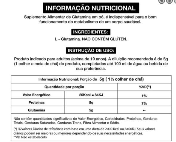 Glutamine Micronized Adaptogen