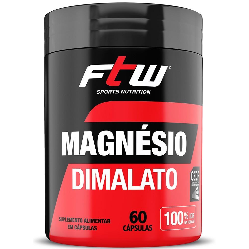 Magnésio Dimalato FTW 60 Capsulas
