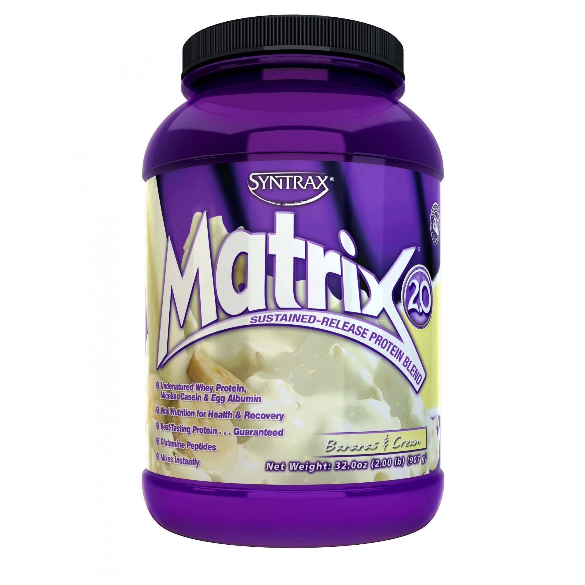 Matrix Whey 2.0 Sabor Bananas & Cream