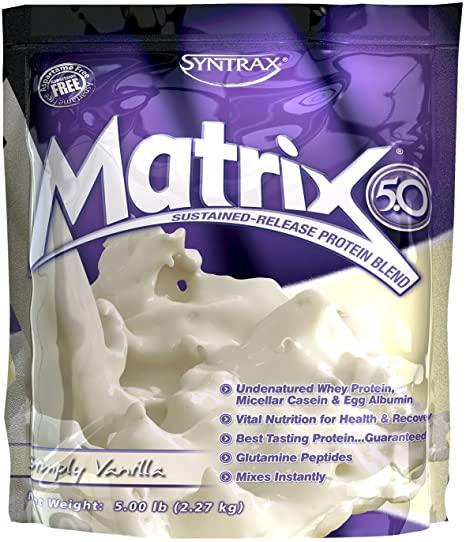 Matrix Whey 5.0 Sabor Simply Vanilla