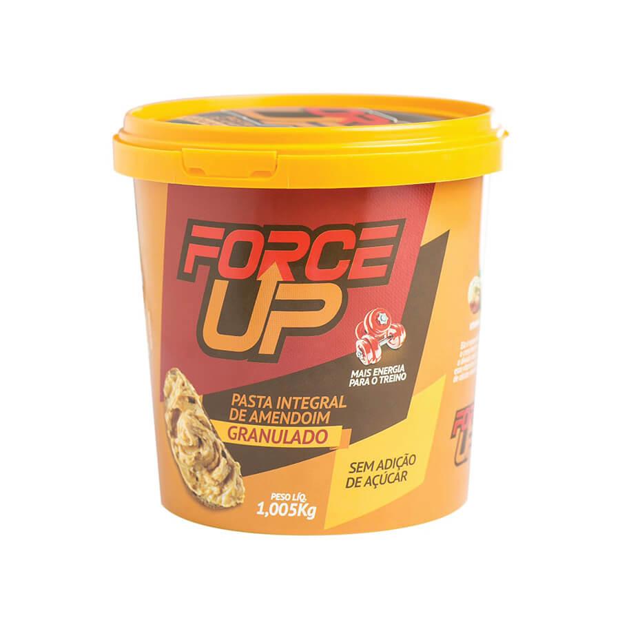 Pasta Force Up Amendoim Granulado 1,005 Kg - VENCIMENTO JULHO/21 - SEM TROCA