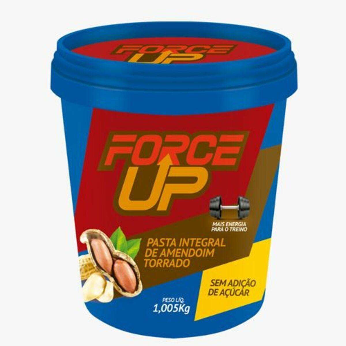 Pasta Force Up Amendoim Torrado 1,005 Kg - VENCIMENTO JULHO/21 - SEM TROCA