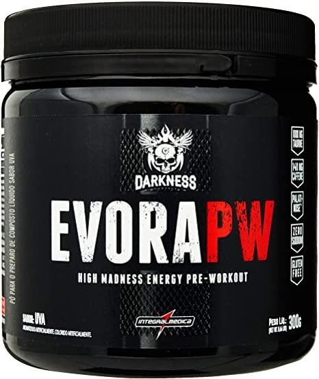 Pre Treino Evora PW Darkness Sabor Uva 300 g