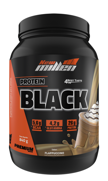 Protein Black New Millen Flapuccino - VENCIMENTO JUNHO/21 - SEM TROCA