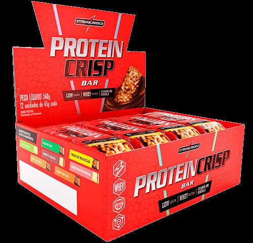 Protein Crisp CX c/ 12 un Sabor Doce de Coco - VENCIMENTO 03/21