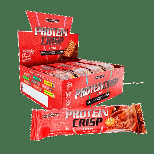 Protein Crisp CX c/ 12 un Sabor Churros com Doce de Leite