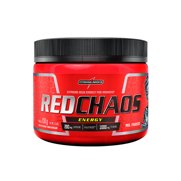 Red Chaos Energy Sabor Mr. Freeze 150g