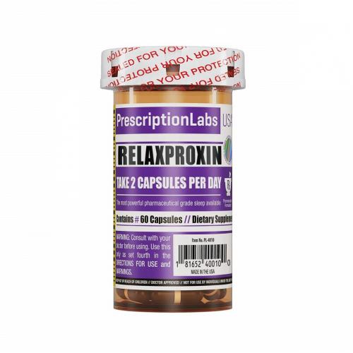 Relaxproxin 60 Caps Prescription Labs - VENCIMENTO JULHO/21 - SEM TROCA