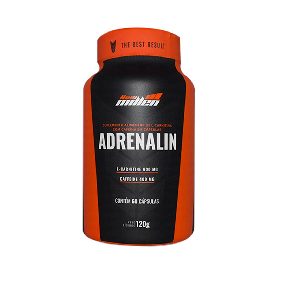 Termogênico Adrenalin 60 Capsulas New Millen