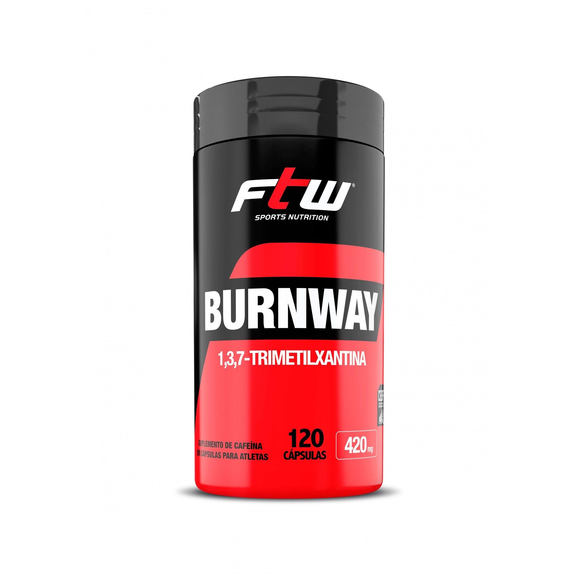 Termogênico Burnway FTW 120 Capsulas