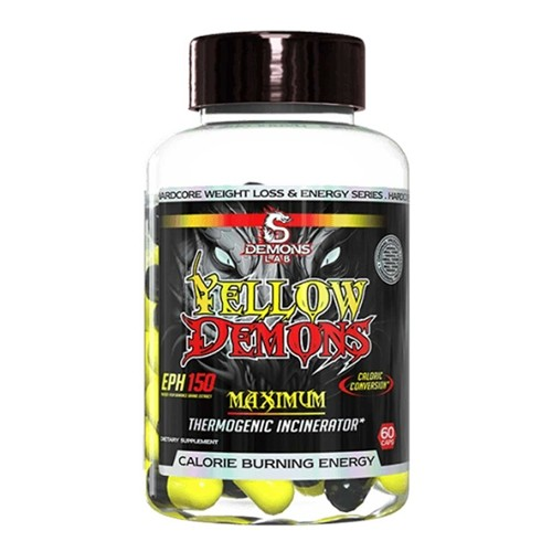 Termogenico Yellow Demons 60 Capsulas