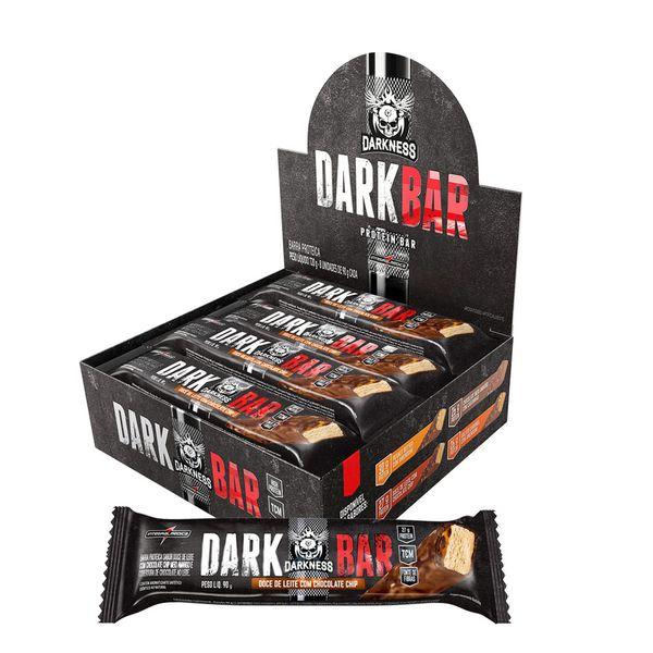 Whey Bar Darkness Doce de Leite Caixa com 8 Un - VENCIMENTO 02/21