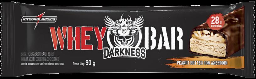 Whey Bar Darkness Sabor Peanut Butter