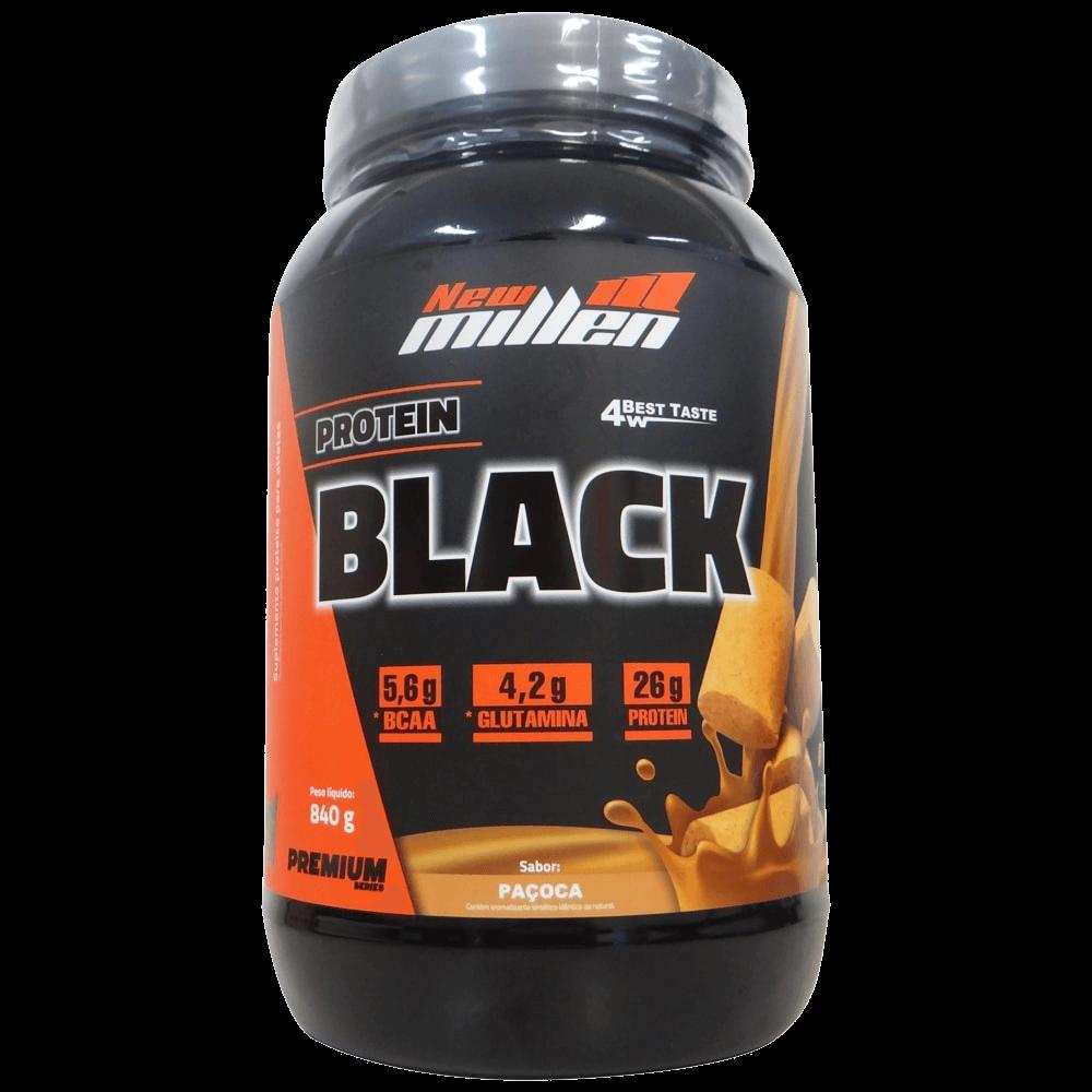Whey Protein Black Sabor Paçoca 907g New Millen