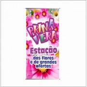 BANNER PRIMAVERA ESTAÇÃO DAS CORES 70X140CM