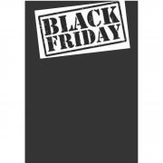 CARTAZ BLACK FRIDAY 40X60CM (C/50 UNIDADES, 2D, 250G)