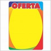 CARTAZ OFERTA 4 CORES 40X60CM (C/50 UNIDADES)