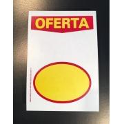 CARTAZ OFERTA COM ELIPSE 10X15 (C/ 50 UNIDADES)