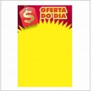 CARTAZ OFERTA DO DIA 40X60CM (C/50 UNIDADES)