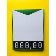 CARTAZ PRECIFICADOR 20X26CM EM PAPEL (C/50 UNIDADES)
