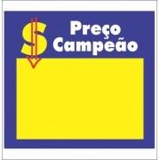 CARTAZ PREÇO CAMPEÃO 20X20 (C/50 UNIDADES)