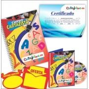 CURSO DE CARTAZISTA = VÍDEO AULA DVD + APOSTILA + 50 SPLASH + 50 CARTAZ + CERTIFICADO + SUPORTE ON-LINE
