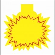 SPLASH INFORMATIVO PONTAS 21X21CM (C/50 UNIDADES)