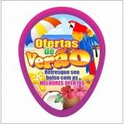 VENTAROLA VERÃO ARARA 18X23CM (C/50 UNIDADES)