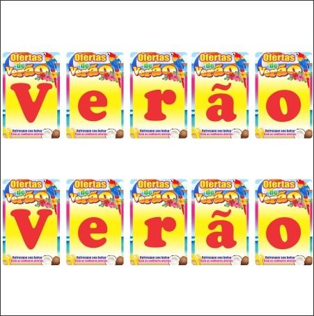 BANDEIROLAS VERÃO ARARA 29X42CM (C/24 UNIDADES, 12 M)