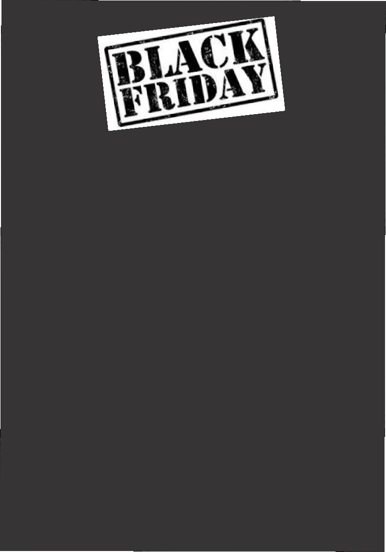 CARTAZ BLACK FRIDAY 29x40CM (C/50 UNIDADES, 2D, 250G)
