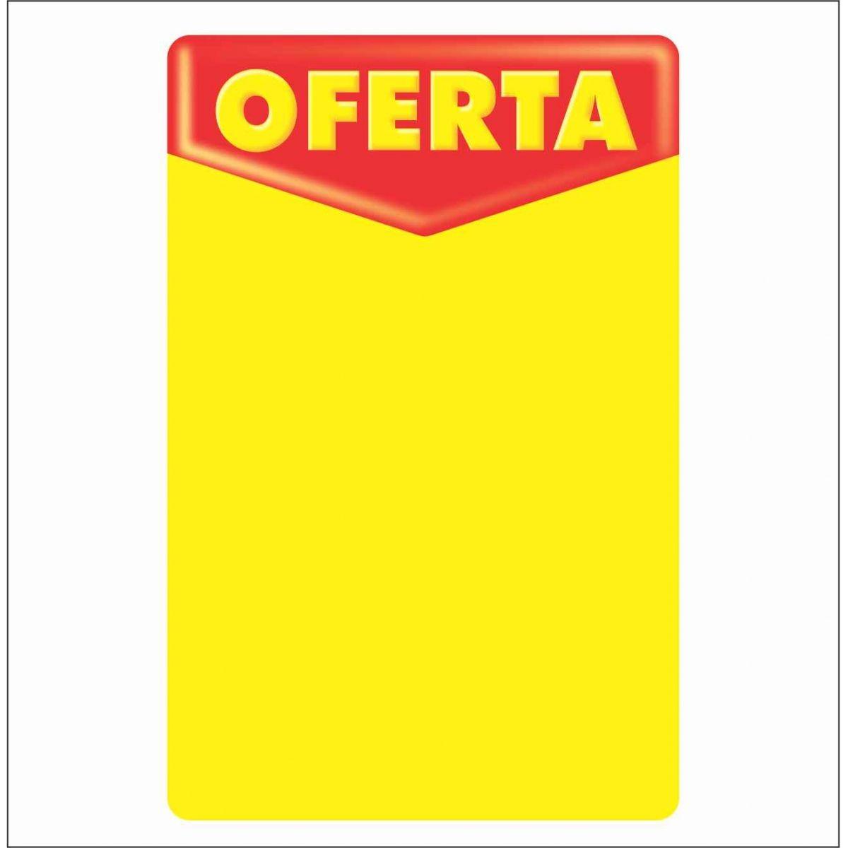 CARTAZ OFERTA 92X62CM (C/100 UNIDADES, 2D)