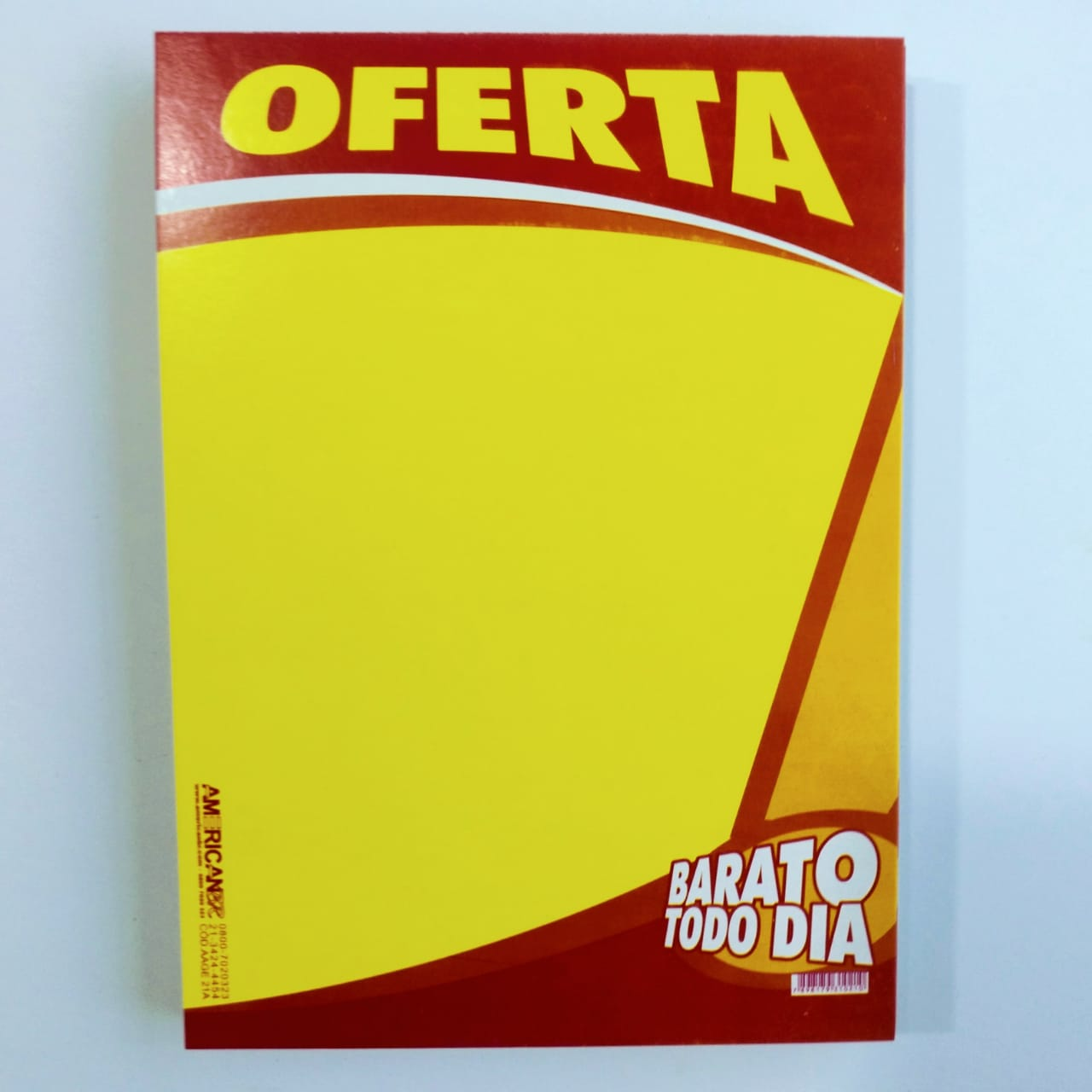 CARTAZ OFERTA BARATO TODO DIA 15X20CM (C/50 UNIDADES)