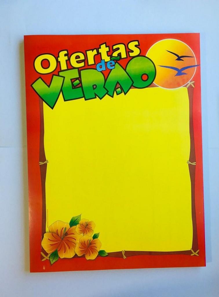 CARTAZ OFERTAS DE VERÃO 30X40 (C/50 UNIDADES)