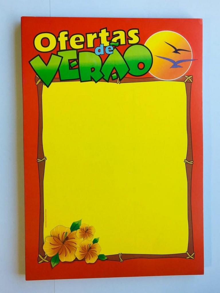 CARTAZ OFERTAS DE VERÃO 45X60 (C/50 UNIDADES)