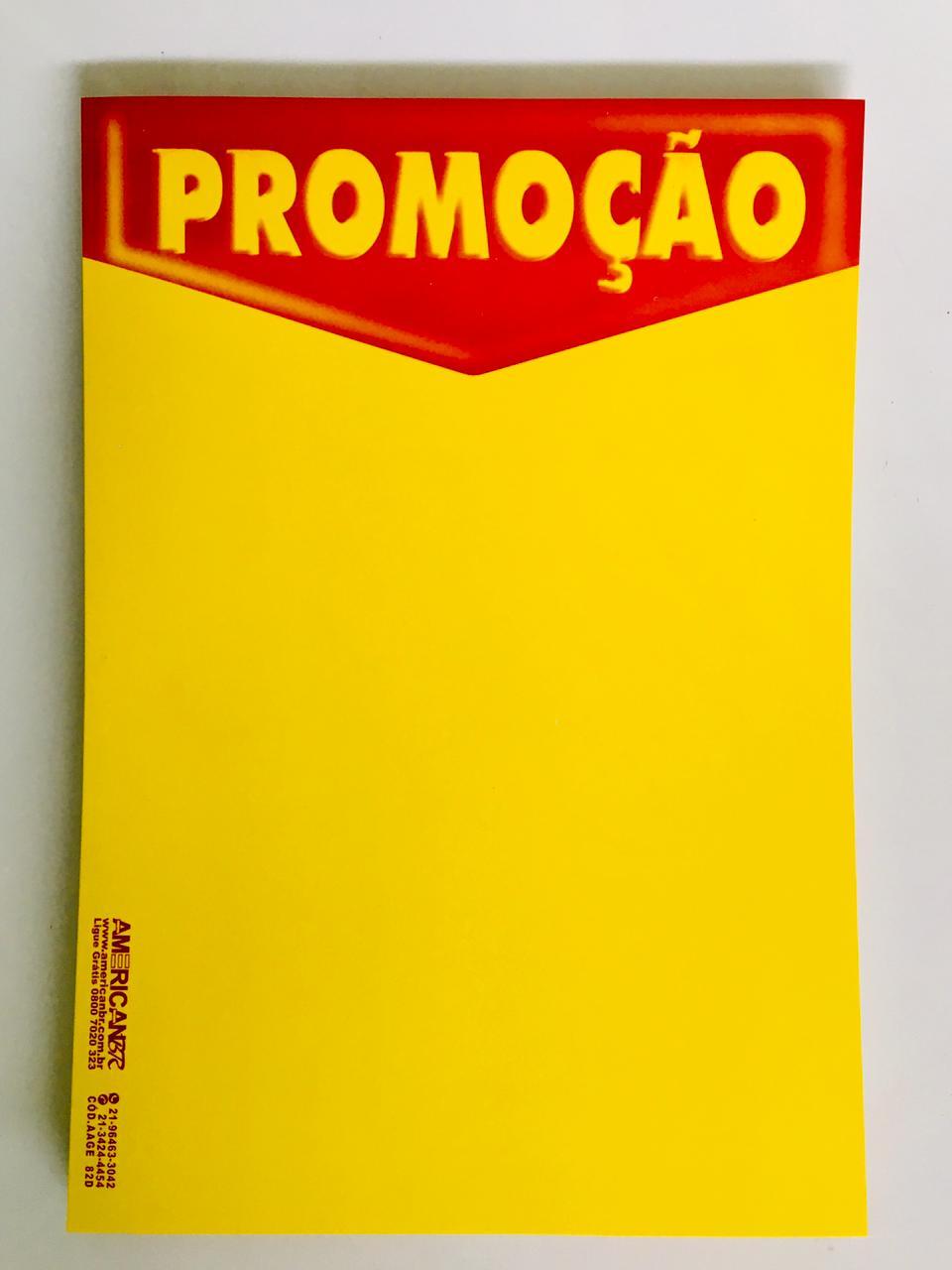 CARTAZ PROMOÇÃO 40X60CM (C/50 UNIDADES, 2D, 250G)