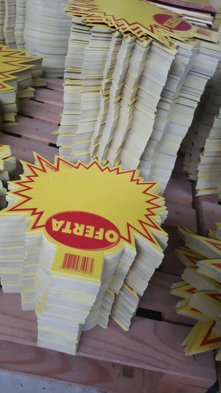 Mercado Livre - SPLASH OFERTA 21X21CM (C/50 UNIDADES)