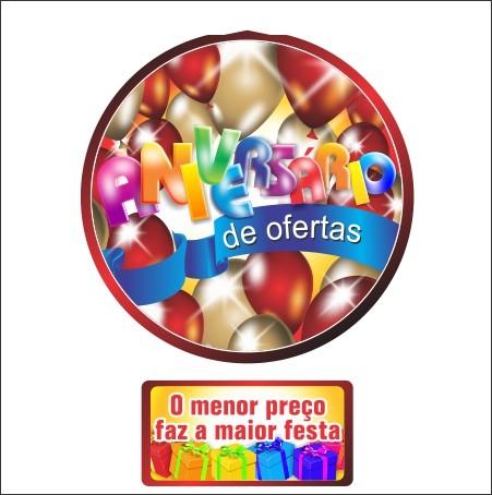 MÓBILE ANIVERSÁRIO DE OFERTAS 40x60CM