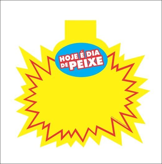 SPLASH HOJE É DIA DE PEIXE 21X21CM (C/50 UNIDADES)