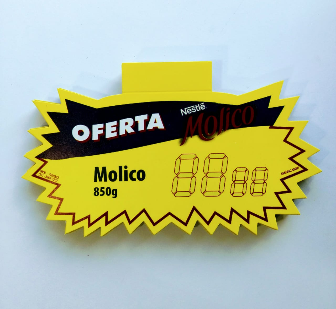 SPLASH OFERTA NESTLÉ MOLICO 12X20CM (C/50 UNIDADES)