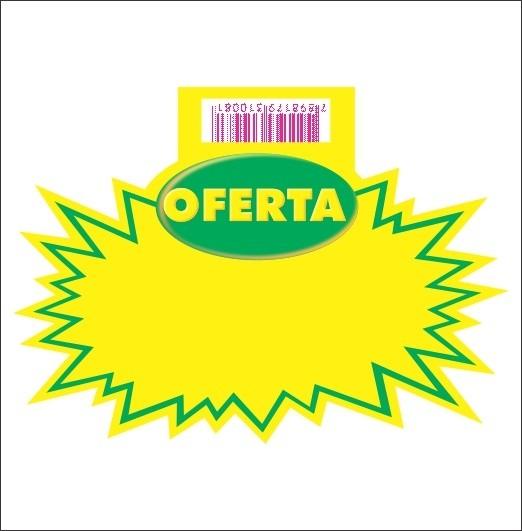 SPLASH OFERTA VERDE 10X15CM (C/50 UNIDADES, 2D)