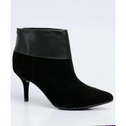 *Bota Feminina Ankle Boot Recorte Via Uno Original 156059