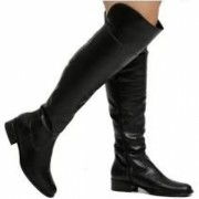 Bota Feminina Over The Knee Via Uno 050326
