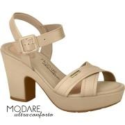 *Sandália modare nude 7103302