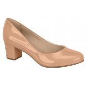 Sapato Baixo Verniz Beira Rio Nude 4777309