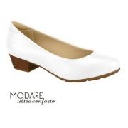 Sapato Branco Feminino Modare 732534