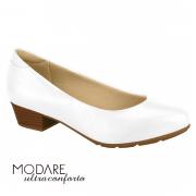 Sapato Branco Feminino Modare 70325341