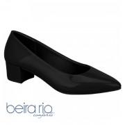 Sapato Casual Feminino Beira Rio Preto Verniz 4221100