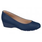 Sapato Feminino Anabela Confort Modare Marinho 7014100