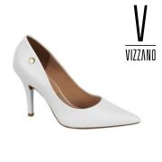 Sapato Feminino Vizzano Pelica Branco 11841101